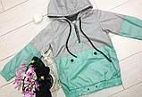 Ветровка детская  134-164 Одесская швейка  Плащевка цена 230 Ветровка детская  98-128 цена 195, фото 4