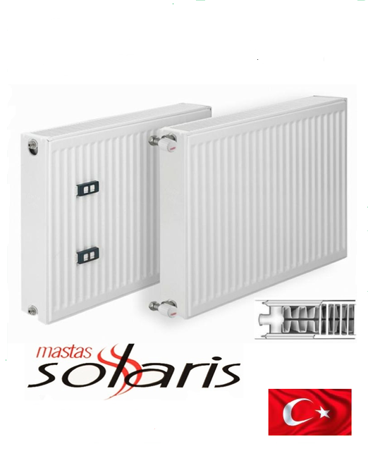 Стальной радиатор SOLARIS 22 тип