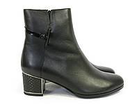 Осенние ботинки женские на каблучке, фото 1