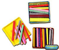 Счетные палочки для детей, в квадратной упаковке