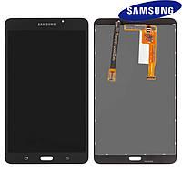 """Дисплейный модуль (дисплей + сенсор) для Samsung T280 Galaxy Tab A 7.0"""" Wi-Fi, черный, оригинал"""