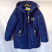 Детская куртка ветровка для девочки  134-158 Китай Плащевка Тонкий слой синтепона Весна-осень Размеры 134-140-