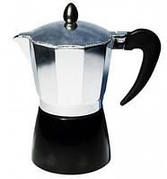 Гейзерная кофеварка алюминиевая Con Brio 6306СВ (300 мл)