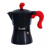Гейзерная кофеварка Con Brio 6606крас (300 мл)