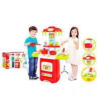Детская кухня 889-52-53 посуда,продукты,световые и звуковые эффекты