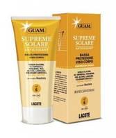 Солнцезащитный крем с антиоксидантным действием SPF 6 Guam (Гуам) Supreme Solare 150 мл