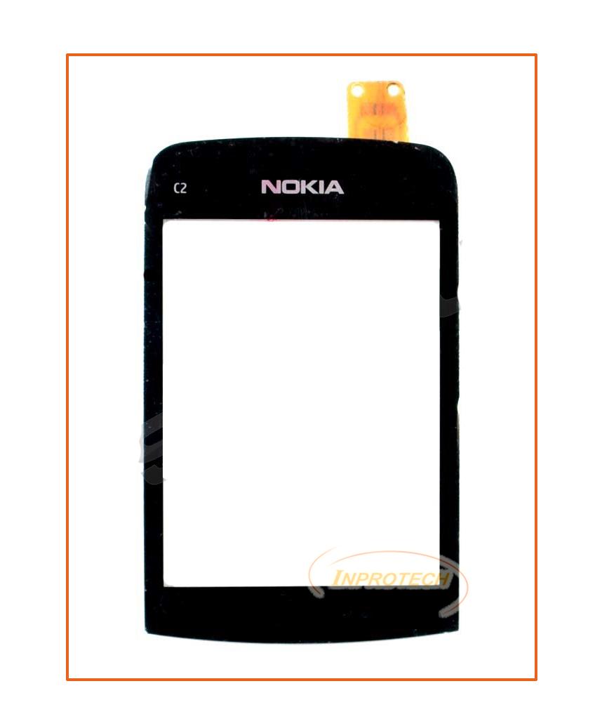 Сенсор (тачскрин) Nokia C2-02, C2-03, C2-06 Black