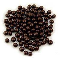 Crispearls Callebaut хрусткі шоколадні перлини. Темний шоколад