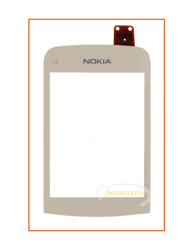 Сенсор (тачскрин) Nokia C2-02, C2-03, C2-06 Gold Original