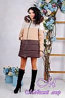 Женская теплая зимняя куртка (р. 44-54) арт. 999 Тон 24