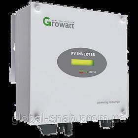 Сетевой инвертор Growatt 3000 S  1 фаза 1 MPPT