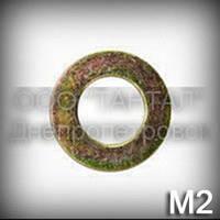 Шайба 2 ГОСТ 11371-78, DIN 125 кадмированная плоская