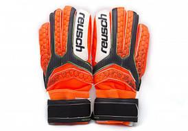 Перчатки Вратарские Reusch pro M1  replica оранжевые [8]