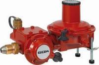 Регулятор давления газа ГОК 10кг/час 50 мбар  PS 16бар GFxRVS15 ПЗК ПСК