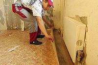 Демонтаж линолеума,ковролина,виниловой плитки