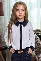 Блузка для школы 37- 0003