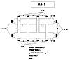 Распределяющий коллектор для системы отопления К-4+1