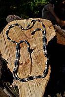 Колье-пояс магнитный (гематит), авторская работа, фото 1
