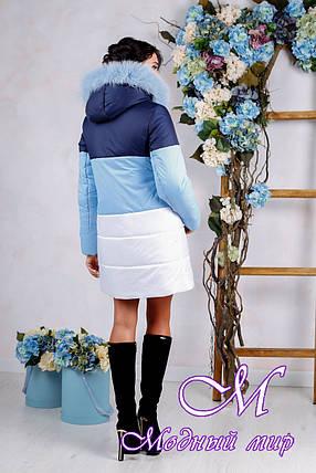 Зимняя женская куртка больших размеров (р. 44-54) арт. 999 Тон 18, фото 2
