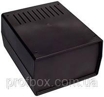 Корпус пластиковий Z2AW PS, чорний (90x147x178)