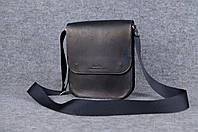 Мужская сумка через плечо  10106  Черный
