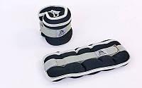 Утяжелители манжеты для рук и ног 2114-4: вес 2x2кг