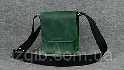 Мужская сумка через плечо |10131| Зеленый