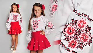 Детская вышиванка с этническим орнаментом
