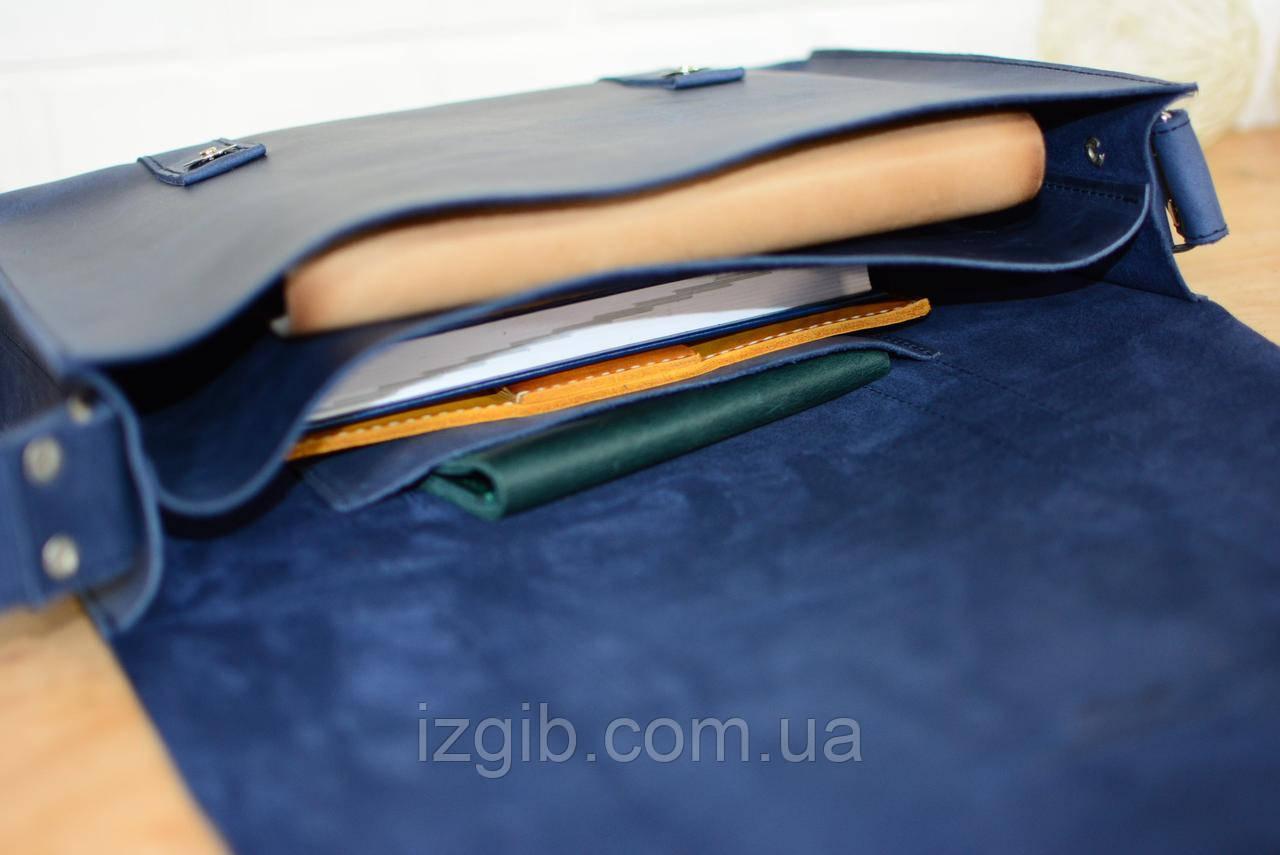 14bfc592fac8 Мужской мессенджер «Городской» |10146| Синий, цена 1 490 грн., купить в  Днепре — Prom.ua (ID#576822163)