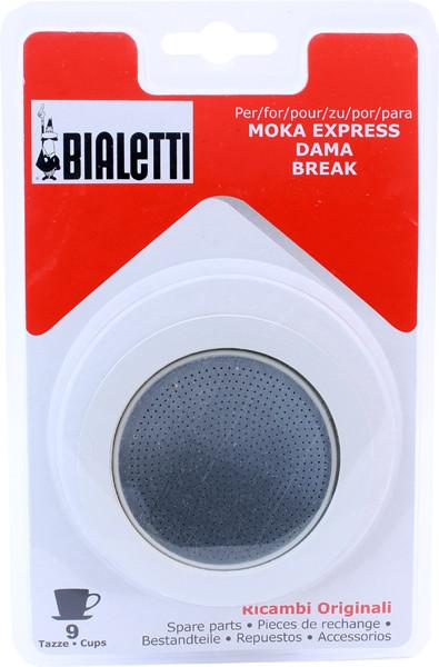 Комплект запчастей к гейзерной кофеварке Bialetti (9 чашек)