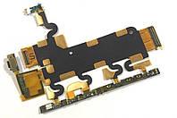 Шлейф Sony Xperia Z1 C6902/ C6903 кнопка включения, регулировки громкости, с микрофоном