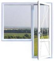 Металлопластиковый дверной блок KBE на балкон