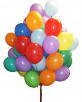 """Воздушные шары оптом 7""""(19см)A70 80 АССОРТИ пастель100шт.упаковка"""