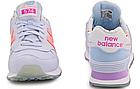 """Женские кроссовки New Balance 574 """"Mirage Twilight"""" (в стиле Нью Баланс 574) голубые, фото 6"""