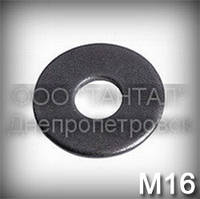 Шайба 16 збільшена ГОСТ 6958-78 (DIN 9021, ISO 7093) плоска
