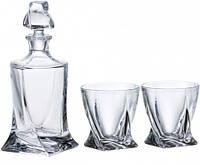 Набор для виски Bohemia  Quadro 99999-99A44-480 (7 пр)