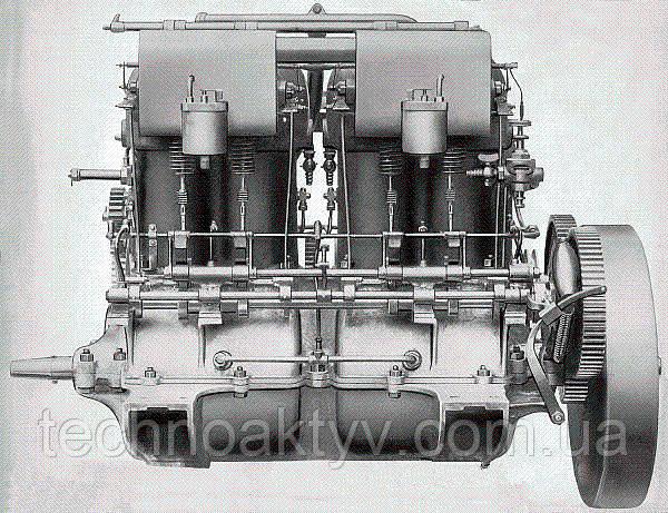 Двигатели марки Mercedes первых автомобилей