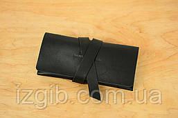 Женский клатч с закруткой |10331| Черный