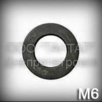 Шайба 6 высокопрочная ГОСТ 11371-78 (DIN 125,ISO 7089,7090) плоская, сталь 40