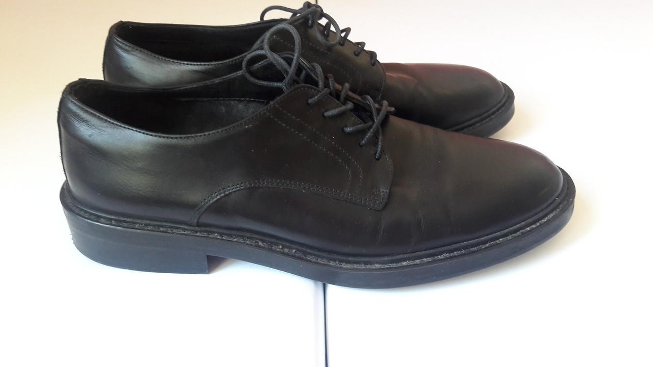 Туфли(40р-р) из натуральной кожи Zara Man, мужские, прошитые - Интернет-магазин «Komforty» в Харькове