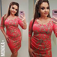 Платье женское батал 41- Б018, фото 1