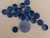 Пуговица спецовочная 2 удара  арт.100013 Д-11мм УП100шт. Ц.Т.синий