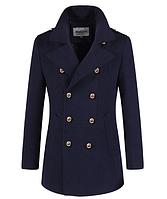 Мужское зимнее пальто. Стильное пальто. Модель 61394