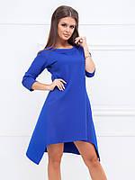 Платье Демисезонное Сильвия в синем цвете