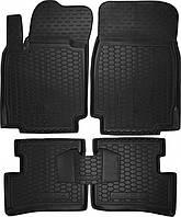 Полиуретановые коврики в салон Nissan Micra III (K12) 2003-2010 (AVTO-GUMM)