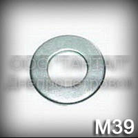 Шайба 39 DIN 125 (ГОСТ 11371-78 ,ISO 7089,7090) оцинкованная плоская