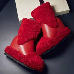 Сапоги женские кожаные зимние, фото 2