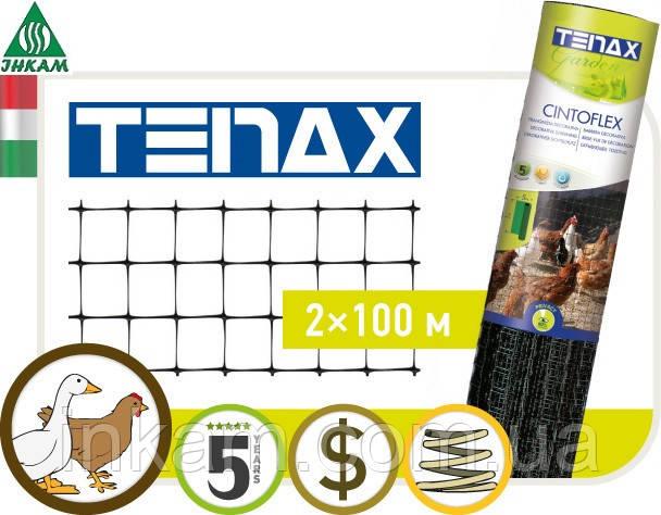 Сетка для ограждения Tenax CINTOFLEX E 2х100м (ячейка 12х14)