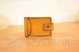 Зажим для денег (с застежкой) |10650| Краст | Бук