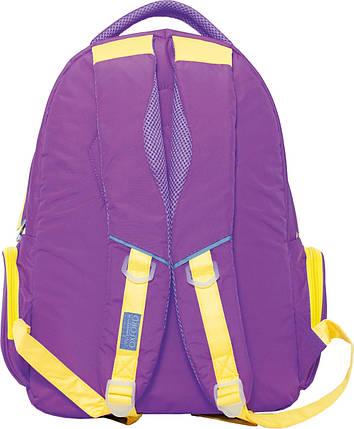Рюкзак молодежный с уплотненной спинкой LITE DU683 (Оксфорд) Oxford 551912 фиолетовый, фото 2